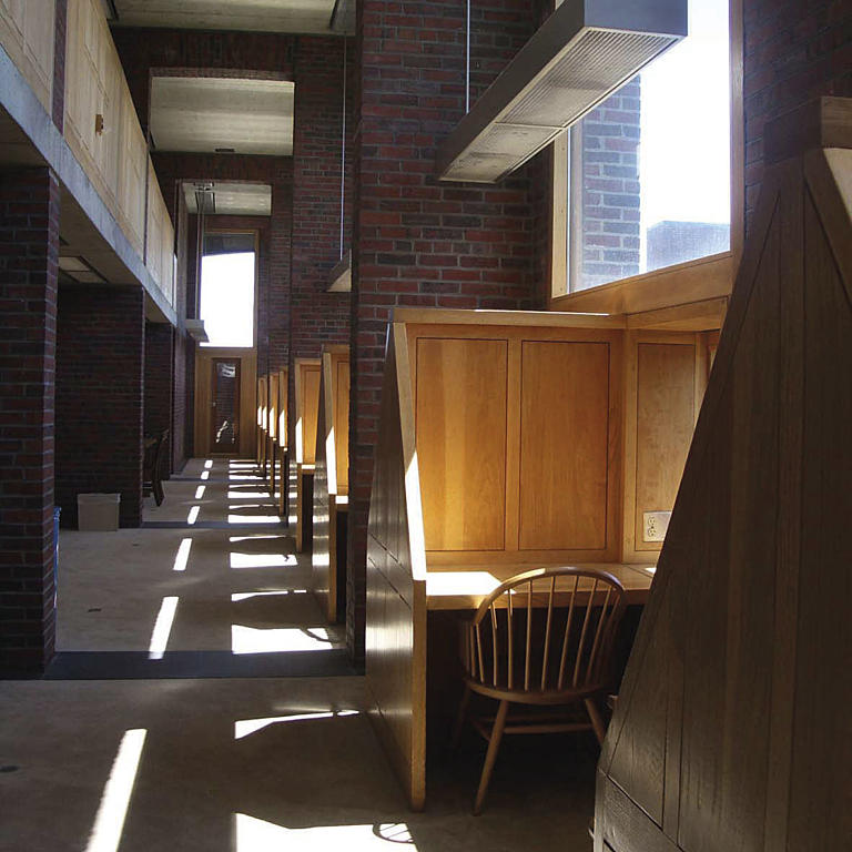 Phillips Exeter Academy Library, New Hampshire. Louis Kahn, 1971.